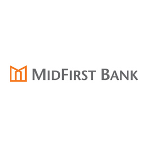 Mid First Bank logo
