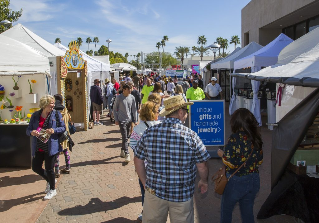Scottsdale Arts Members at the Friends level and higher get free tickets to the Scottsdale Arts Festival. Photo: Chris Loomis