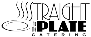 Straight to the Plate Catering logo